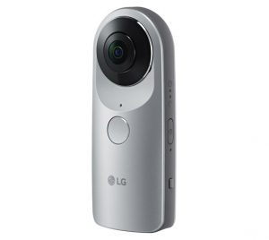 LG 360 CAM with waterproof case